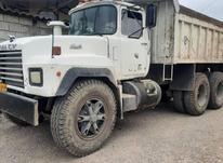 کامیون کمپرسی در شیپور-عکس کوچک