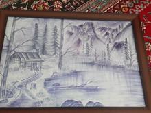 با نقاشی ما خانه هایتان را زیبا کنید نقاشی با قلم فلزی در شیپور