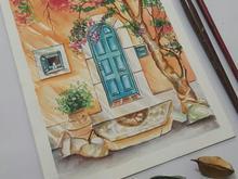 نقاشی منظره آبرنگ در شیپور