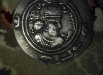 سکه نقره قدیمی در شیپور-عکس کوچک