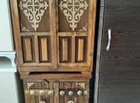 جاکفشی چوبی سنتی دو درب شیک در شیپور-عکس کوچک