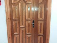 درب ورودی چوبی جامی و درب آلومینیومی و کابینت و شیر الات در شیپور