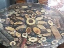 میز نهارخوری سه نفره طرح جنگلی در شیپور