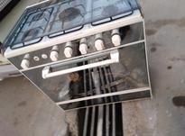 اجاق گاز پنج شوله طرح فر درحد نو در شیپور-عکس کوچک