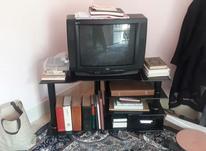 تلویزیون جی وی سی با میز در شیپور-عکس کوچک
