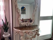 آینه کنسول و لوستر پلی استر در شیپور
