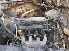 پژوپارس تصادفی موتور زانتیا در شیپور