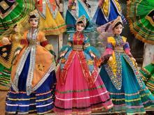 عروسک سنتی در شیپور