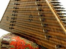 سنتور نو تمام چوب گردو 2 مهر قشلاقی با لوازم در شیپور