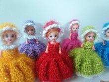 عروسک های بافتنی فانتزی15سانتی در شیپور