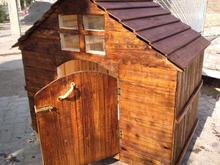 لانه سگ و قفس چوبی در شیپور