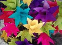 گلهای چوبی دست ساز جهت مونتاژ در شیپور-عکس کوچک