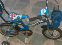دوچرخه 12 آبی فیروزه ای در شیپور-عکس کوچک