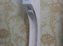 دستگاه ضدعفونی کننده سخنگو. ضد عفونی سخن گو. ایستاده در شیپور-عکس کوچک