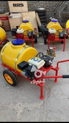 سمپاش چرخدار 100 لیتر عفتراش علفزن سم پاش اره بنزینی موتوری در گروه خرید و فروش صنعتی، اداری و تجاری در گیلان در شیپور-عکس1