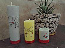 شمع های دستاز در شیپور