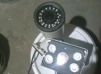 دو عدد دوربین مدار بسته دید درشب پلاک خوانا در حد صفر در شیپور-عکس کوچک