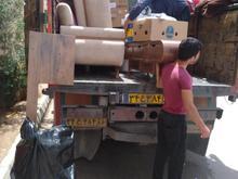 اعزام نیرو �راه با ماشین مخصوص اثاث خانه دارای پتو وضربهگیر در شیپور