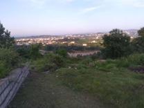 فروش زمین مسکونی 1200 متر در جاده نظامی بالای تپه، سه بر در شیپور