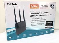 مودم روتر VDSL/ADSL دی لینک DSL-2870A در شیپور-عکس کوچک