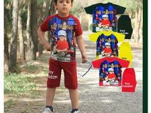 تیشرت شلوارک بچه گانه جنس پنبه ویسکوز سایز بندی رنگبندی در شیپور