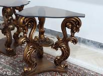 میز عسلی سلطنتی 3 تیکه کارکرده.ولی تمیز در شیپور-عکس کوچک