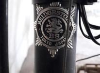 دوچرخه کورسی بریجستون تمام استیل کلکسیونی در شیپور-عکس کوچک
