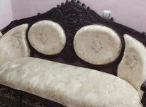 مبل 9 نفره فرحی چوب گردو در شیپور-عکس کوچک