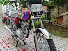 یک دستگاه موتور سیکلت هندا 125 در شیپور