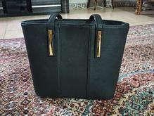 کیف زنانه مشکی چرم جنس عالی درحدنو در شیپور