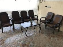 6 عدد صندلی و یک عدد میز مدیریت در شیپور