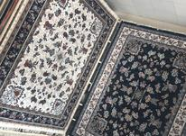 فرش گیلدا کرم و سرمه ای در شیپور-عکس کوچک