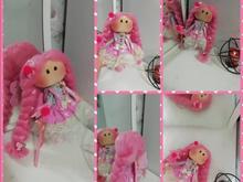 عروسک روسی فرشته با بال در شیپور