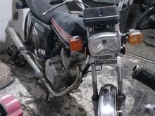 موتور سیکلت پلاک قدیم در شیپور