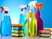 کارگر نظافت و خدمات تمیز کن آماده تمیز کردن در شیپور