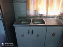 سینگ ظرفشویی دولنگ با کابینش سالم در حد نو در شیپور-عکس کوچک