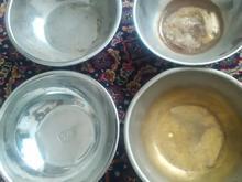 4عدد کاسه سماور برنجی در شیپور