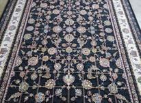 فرش دربار کاشان افشان سورمه ایی ماشینی 9متری در شیپور-عکس کوچک