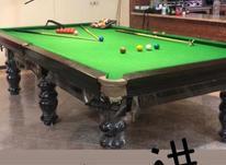 میز بیلیارد در حد نو. در شیپور-عکس کوچک