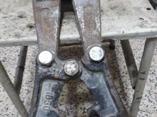 3عدد قیچی زمینی کیه عدد قیچی دستی 3عدد پاکت بتن در شیپور