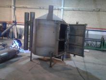 کوره زغال تمام اتوماتیک به همراه سیستم دودسوز در شیپور