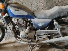 یک عدد موتور سیکلت سالم 200سسی در شیپور