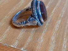 انگشتر عقیق سرخ.دست ساز در شیپور