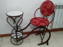 میز تلفن فرفورژه در شیپور