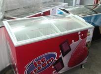 فریزر صندوقی درب شیشه دار بستنی فروشگاه الکتروبهارآمل،آبـدار در شیپور-عکس کوچک