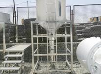 مخزن استیل قیف استیل 1300 لیتری در شیپور-عکس کوچک