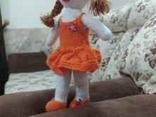 عروسک بافتنی کاردست در شیپور