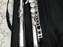 فلوت کلید دار برند سلمر روکش نقره در شیپور