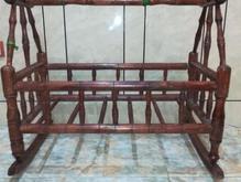 گهواره چوبی مدل سنتی در شیپور