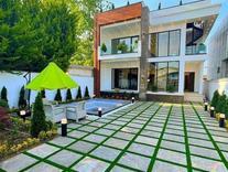 ویلا مدرن دوبلکس هوشمند طراحی خاص 420 متر نور  در شیپور